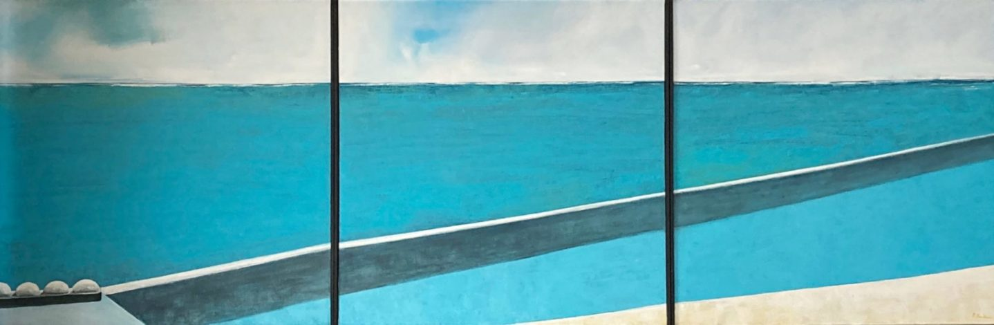 Oil on canvas - Triptyque