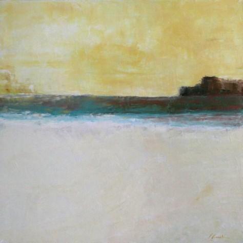 Peinture huile sur toile - Coté faux