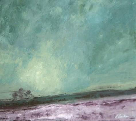 Peinture huile sur toile - Couleurs du temps
