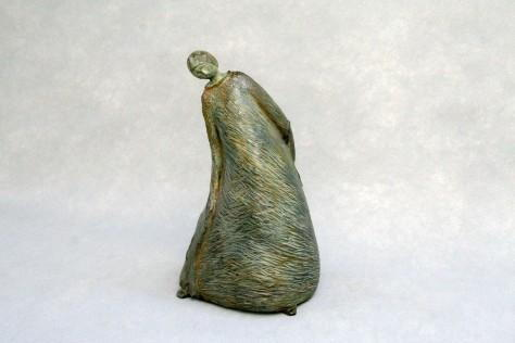 Sculpture bronze personnage - Danse H 36 cm