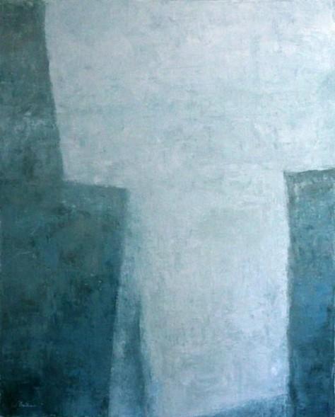 Peinture Huile sur Toile - Falaises