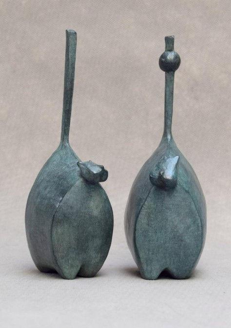 Flirt H20cm - Sculpture Bronze