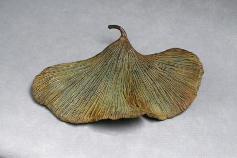 Sculpture bronze - Ginko