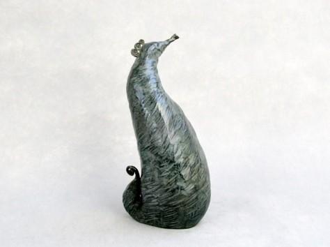 Sculpture bronze animalier - Hippocampe