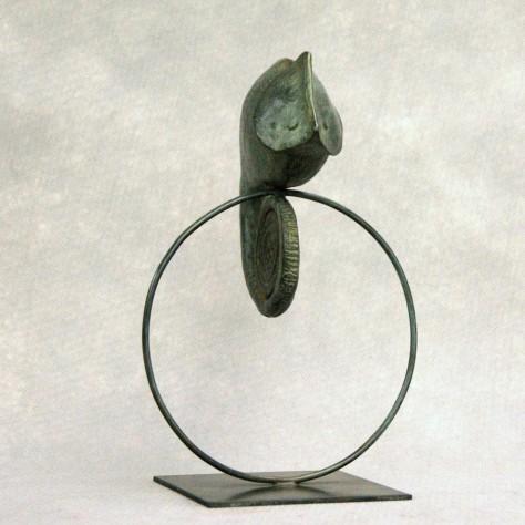 Sculpture Bronze Animalier - Léon H26 x L15 cm