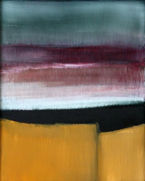 Huile sur toile - LES BLÉS H25 x L20 cm