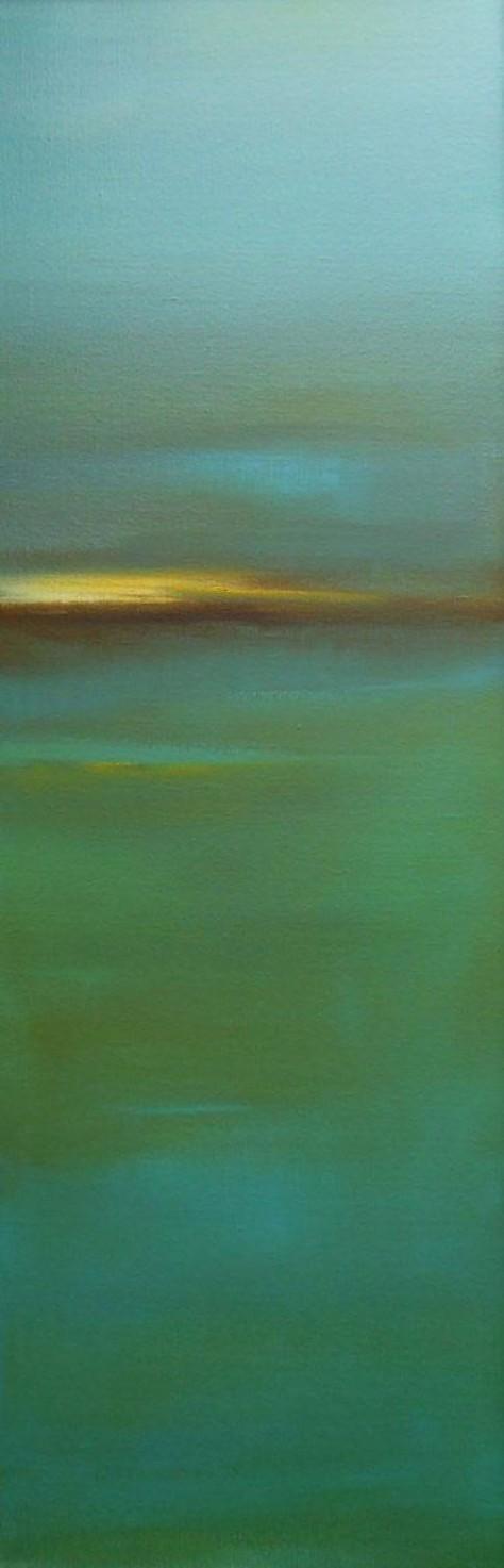 Huile sur toile - L'ESCALA 1 H120 x L40 cm