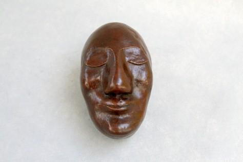 Sculpture bronze - Le Masque