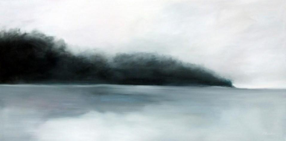 Peinture huile sur toile - Long cours
