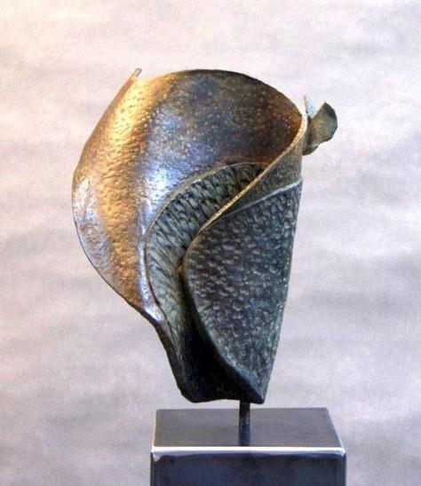 Sculpture bronze animalier - Papillon H38 cm