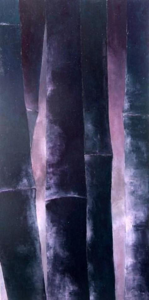 Peinture huile sur toile - Rosée