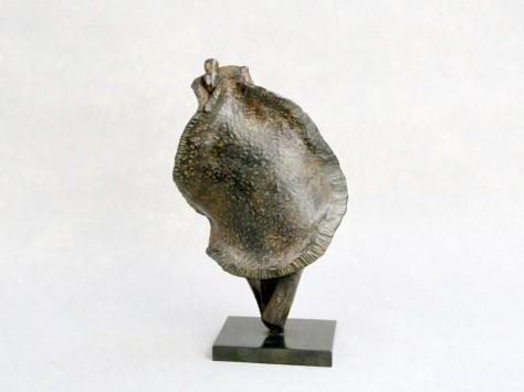 Sculpture Bronze Personnage - Sugata H36 Cm