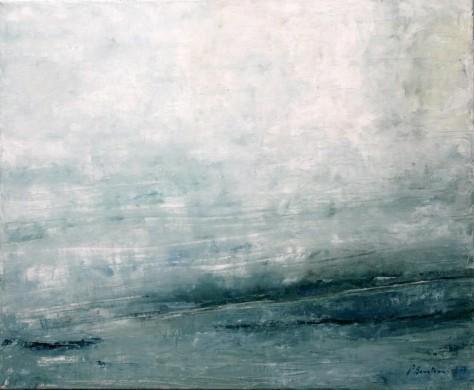 Peinture Huile sur Toile - Sur les rives