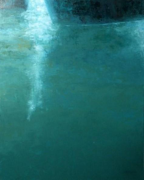 Peinture huile sur toile - Vague à l'âme
