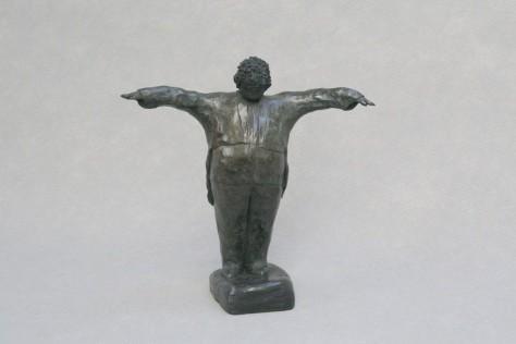 Sculpture bronze personnage - Chef d'orchestre