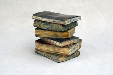 Sculpture bronze - En pile