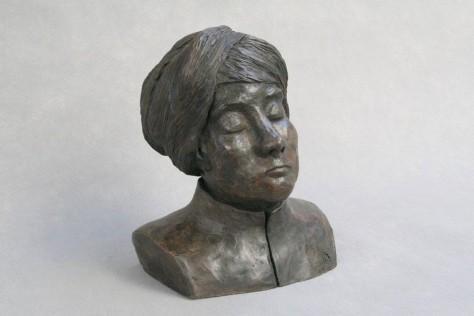 Sculpture Terre Cuite personnage - Étude – H35 cm