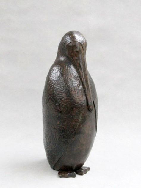 Sculpture Terre Cuite animalier - Le péligouin – H40 cm