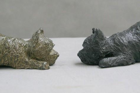 sculpture bronse animalier - Uno